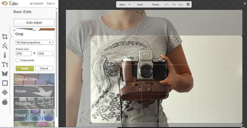 jak kadrować zdjęcia na bloga
