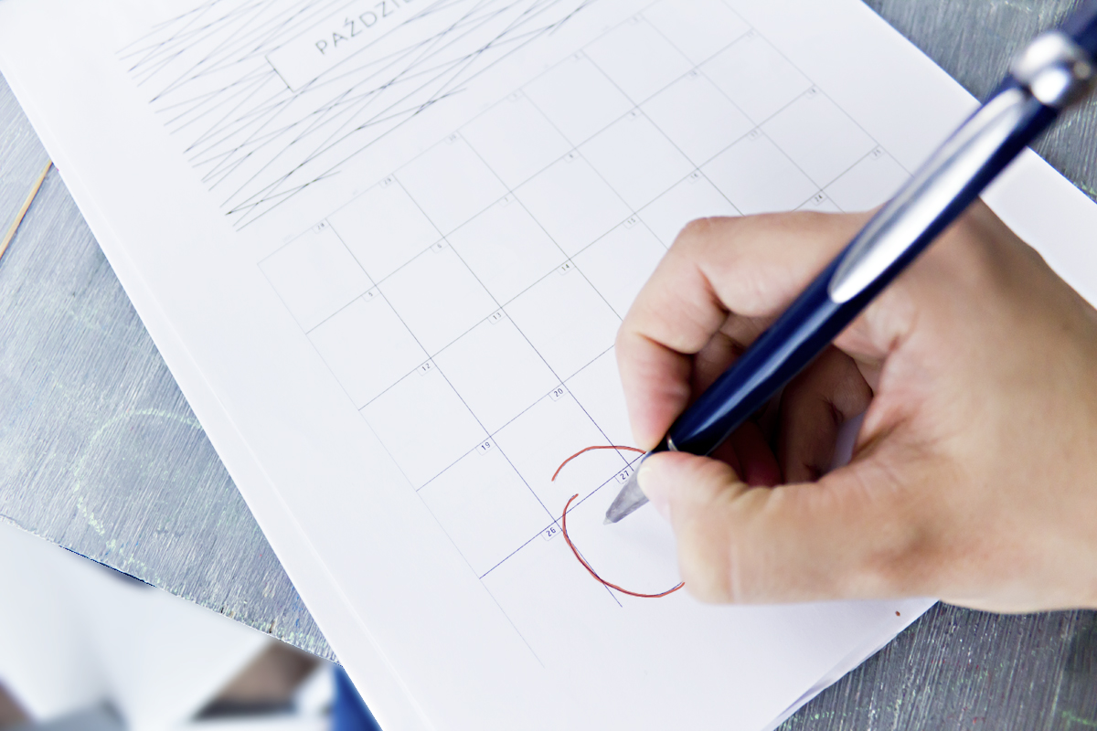 Kalendarz postów na bloga – instrukcja