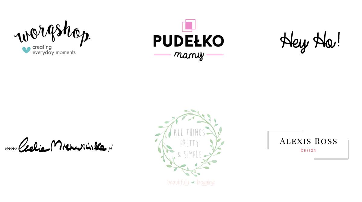 logo dla bloga przykłady