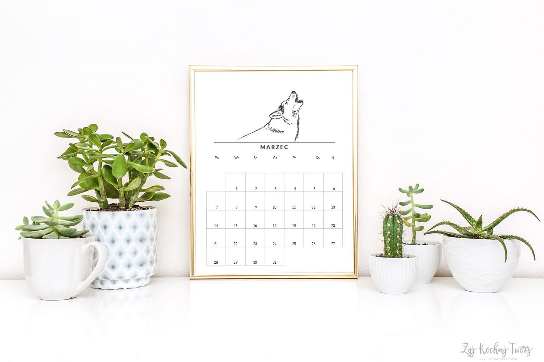 kalendarz 2016 w ramce pomysł na prezent