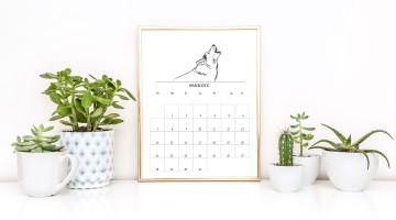 kalendarz 2016 a4 w ramce
