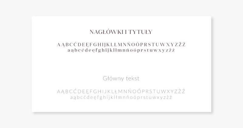 fonty identyfikacja wizualna